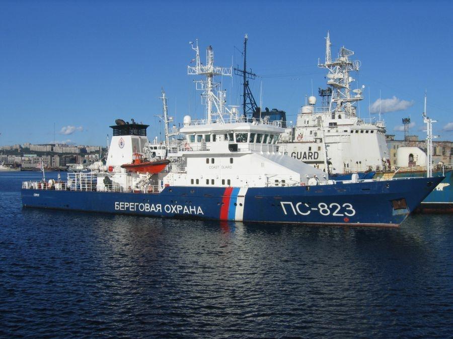 ПС-823 в Мурманске. 11.08.2011.